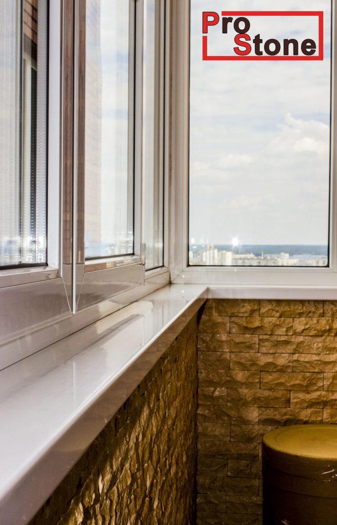 кухонная столешница камень акриловый Киев